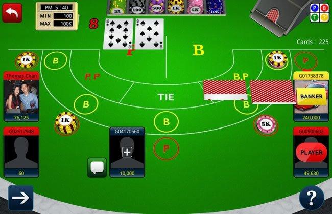 Judi Baccarat Online 3D Free Casino