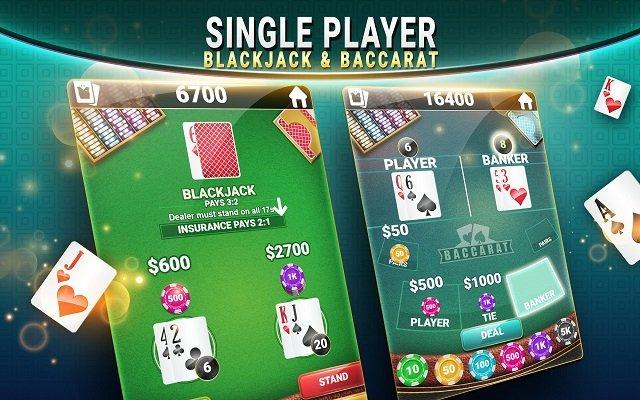 Judi Blackjack & Baccarat - Casino Card Game